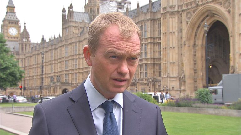 Tim Farron reacts to the Manchester terror attack
