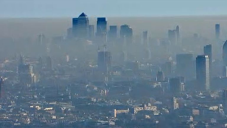 UK'S ENVIRONMENT MINISTRY SAYS  IT PLANS TO SET UP CLEAN AIR ZONES IN ENGLAND TO IMPROVE AIR QUALITY
