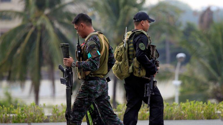 Philippines President Rodrigo Duterte says security has been increased in tourist areas