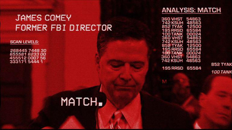 Donald Trump has 'terminated' James Comey's employment as FBI Director