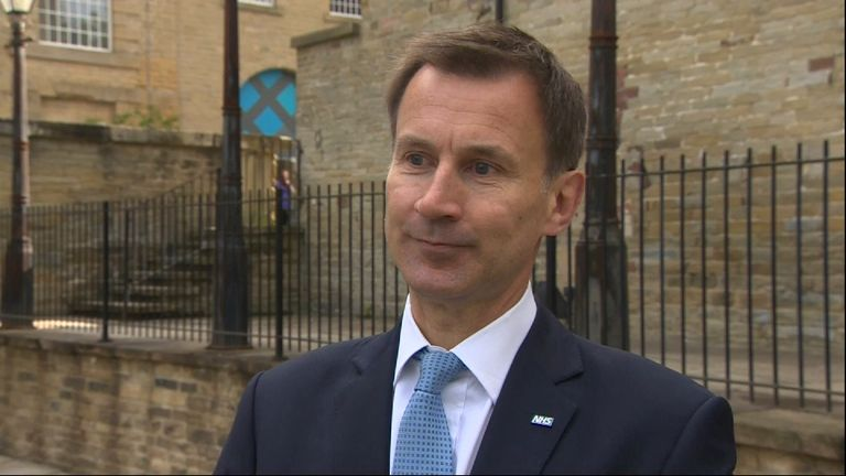 Jeremy Hunt says the social care system will be made fairer