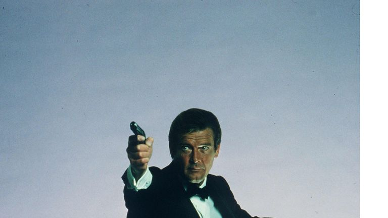 Moore was the longest-running Bond in 007 history