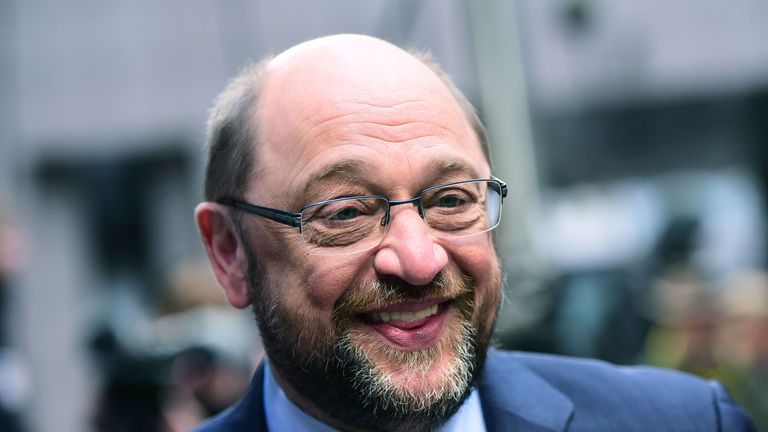 Martin Schultz was president of the European Parliament until this year