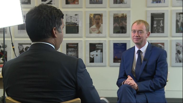 Tim Farron addresses the Liberal Democrats policy on drugs