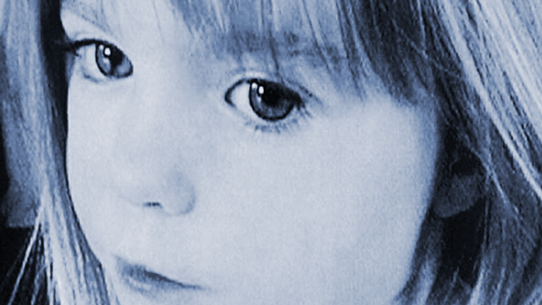 Madeleine McCann missing ten years.