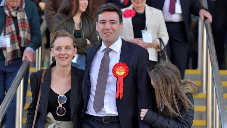 Andy Burnham won the race to be Greater Manchester mayor