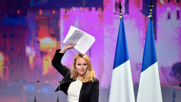 French far-right Front National deputy Marion Marechal Le Pen