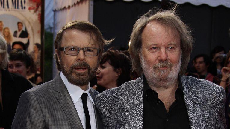 Bjorn Ulvaeus and Benny Anderson wrote Abba's songs