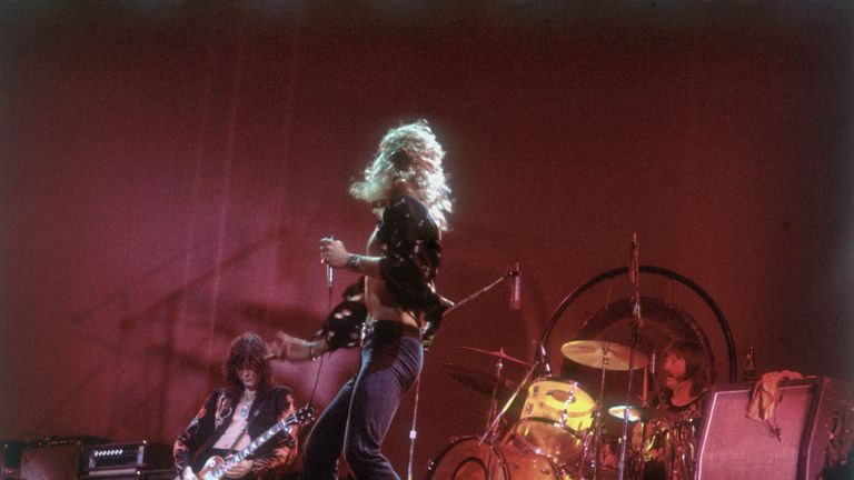 Led Zeppelin mark their 50 anniversary next year
