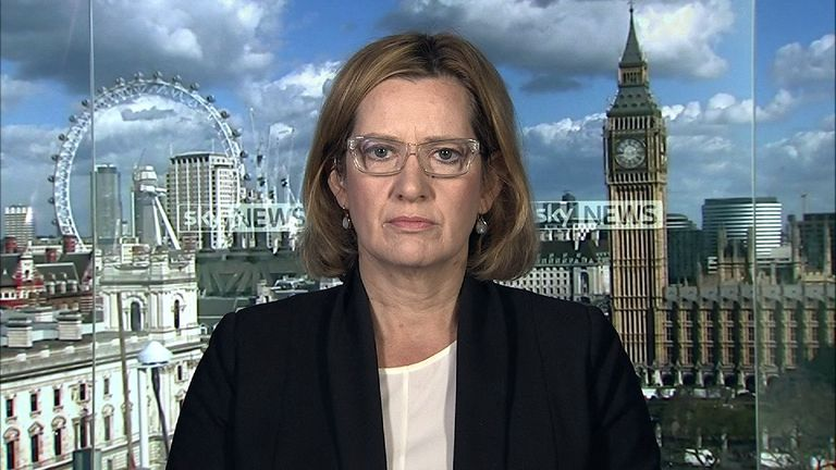 Home secretary, Amber Rudd says police did have the Manchester bomber on a watchlist.