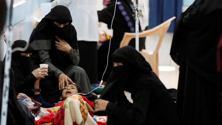 A two-year war has meant more than half of Yemen's hospitals are no longer fully functioning