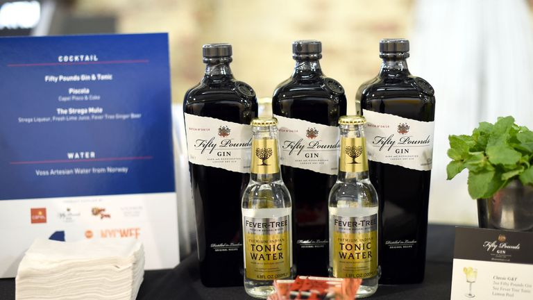 Sales of Fever-Tree products in the UK grew by 118% in 2016