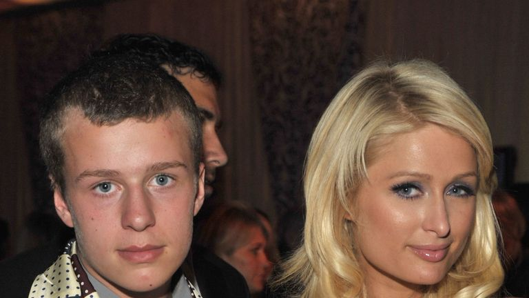 Conrad and Paris Hilton pictured together in 2009