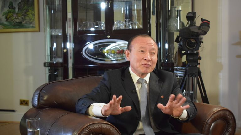 North korean ambassador to uk