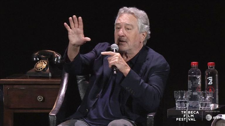 Robert De Niro joins the surviving cast of The Godfather for a 45th anniversary reunion