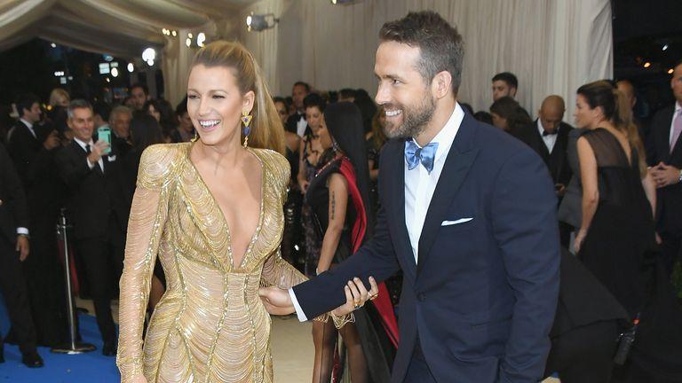 Blake Lyvely and Ryan Reynolds