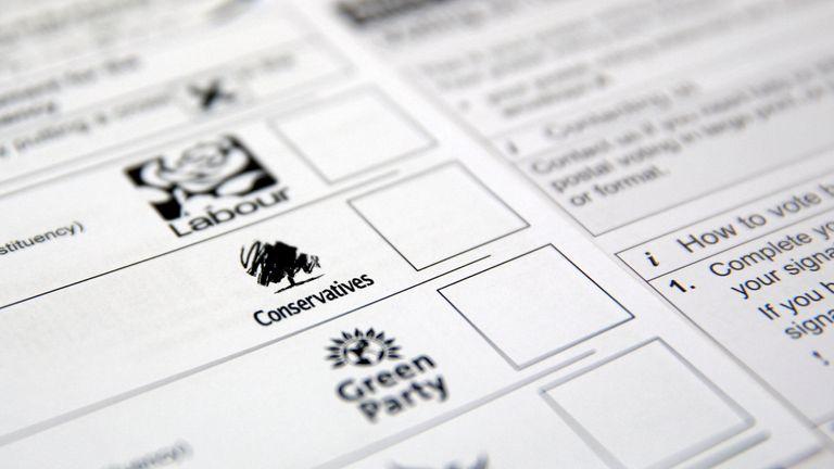Voting form