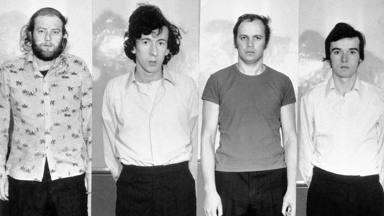 The four Provisional IRA terrorists known as the Balcombe Street Terror Gang