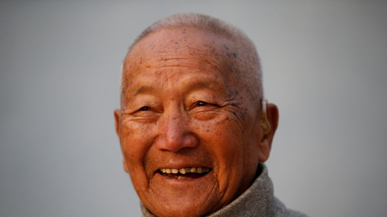 The 85-year-old Nepalese climber was preparing to attempt to climb Everest for the second time