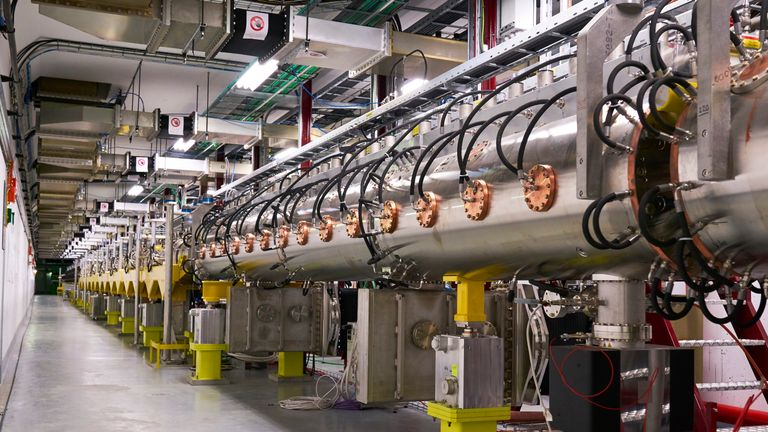 The linear accelerator Linac 4 is the latest addition to CERN's particle accelerator complex. Pic: CERN