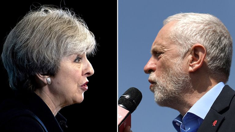 May v Corbyn Live: The Battle For Number 10 takes place on Monday 29 May