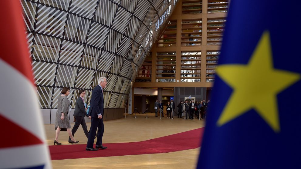 Brexit negotiator Michel Barnier in Brussels