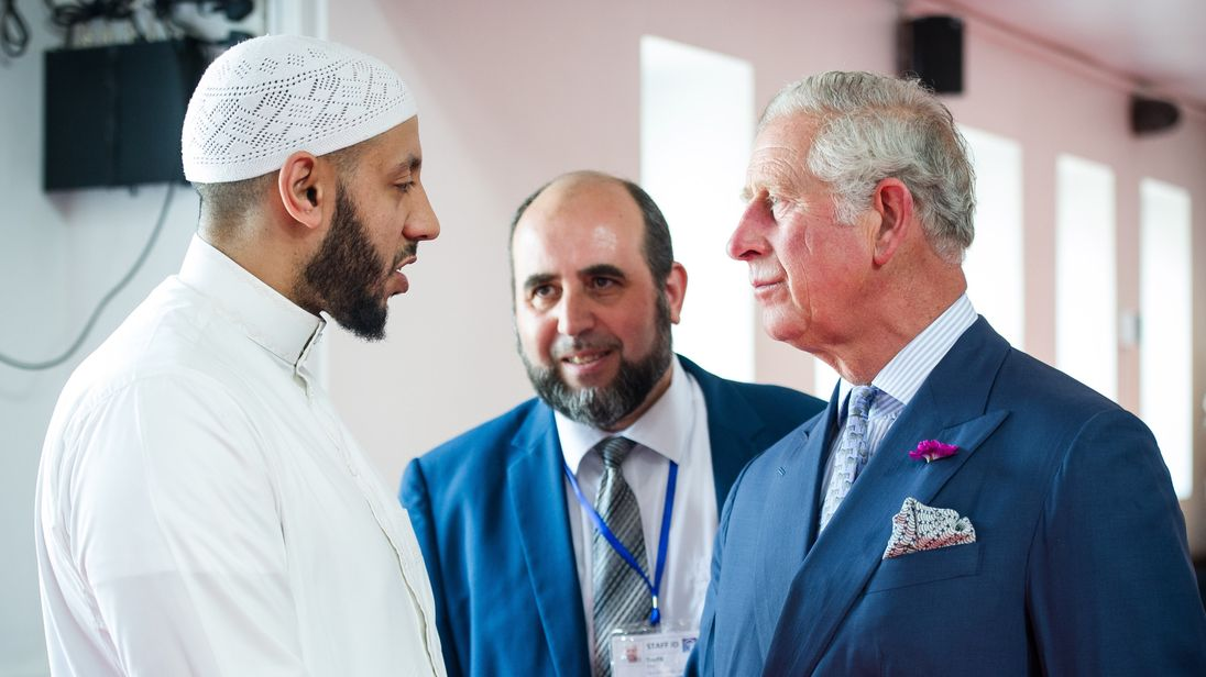 Prince Charles said his 'thoughts and prayers' were with the Finsbury Park community