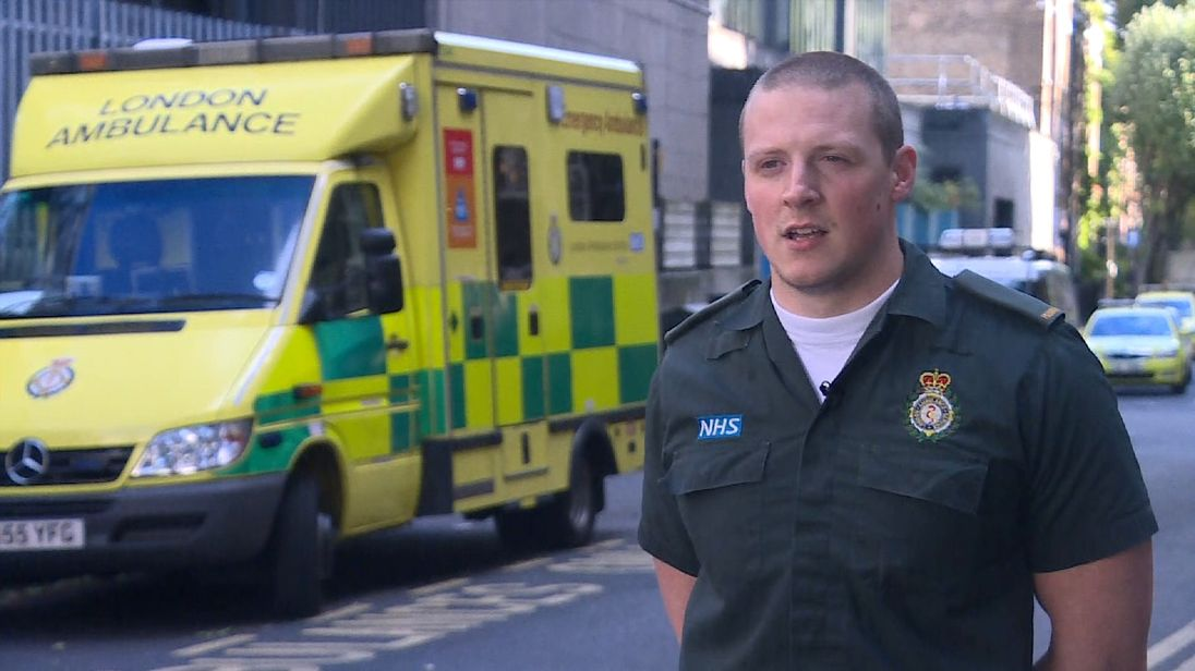 Gary Edwards was the first paramedic at the scene of London Bridge terror attack