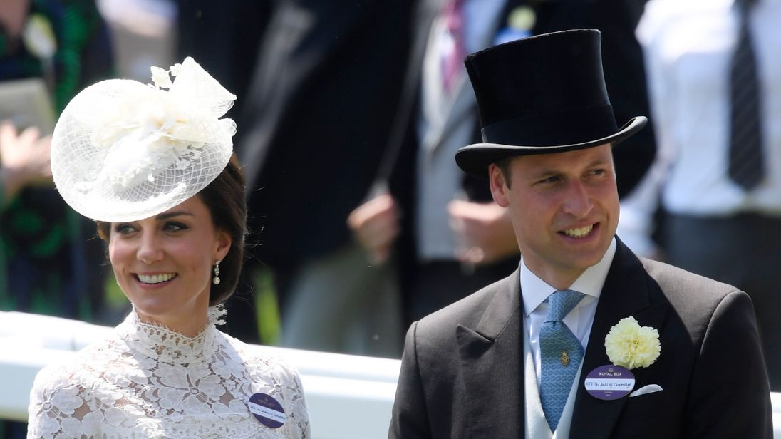 Catherine, the Duchess of Cambridge and Prince William
