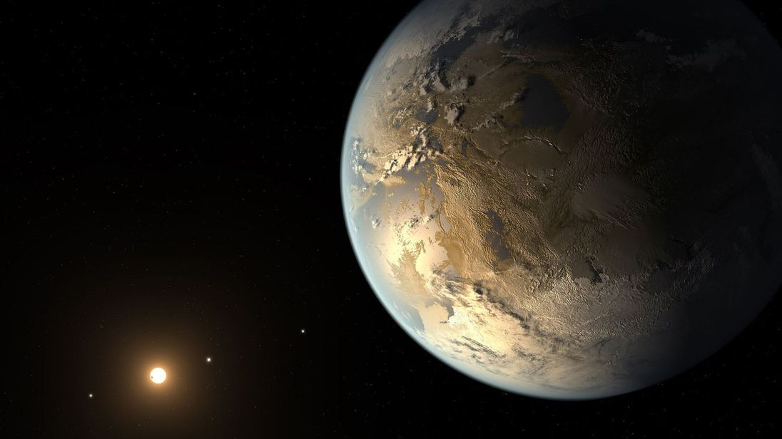 The planets were discovered by the Kepler telescope