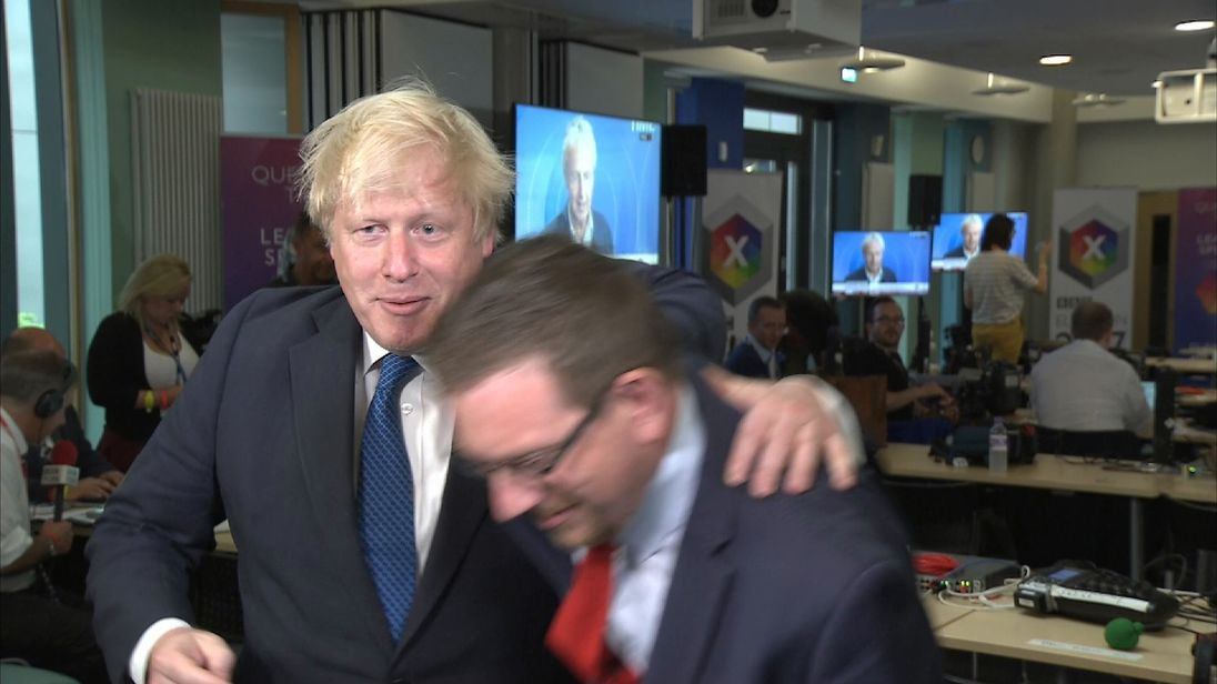 Boris Johnson and Andrew Gwynne battle it out on TV for the second time in a week