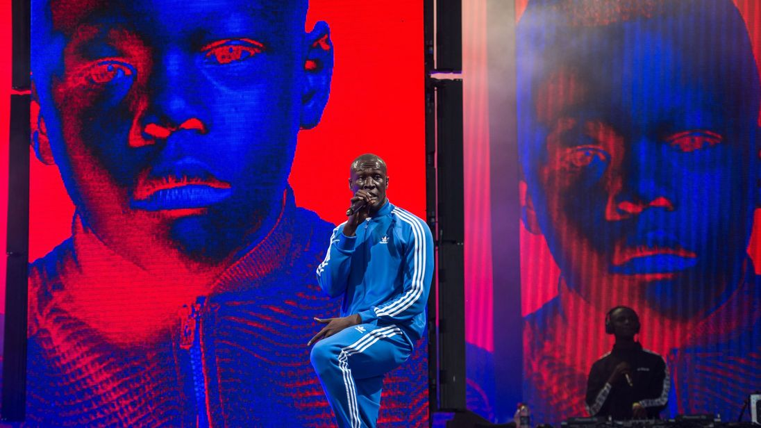Grime star Stormzy sent a message of support to the bullied youngster