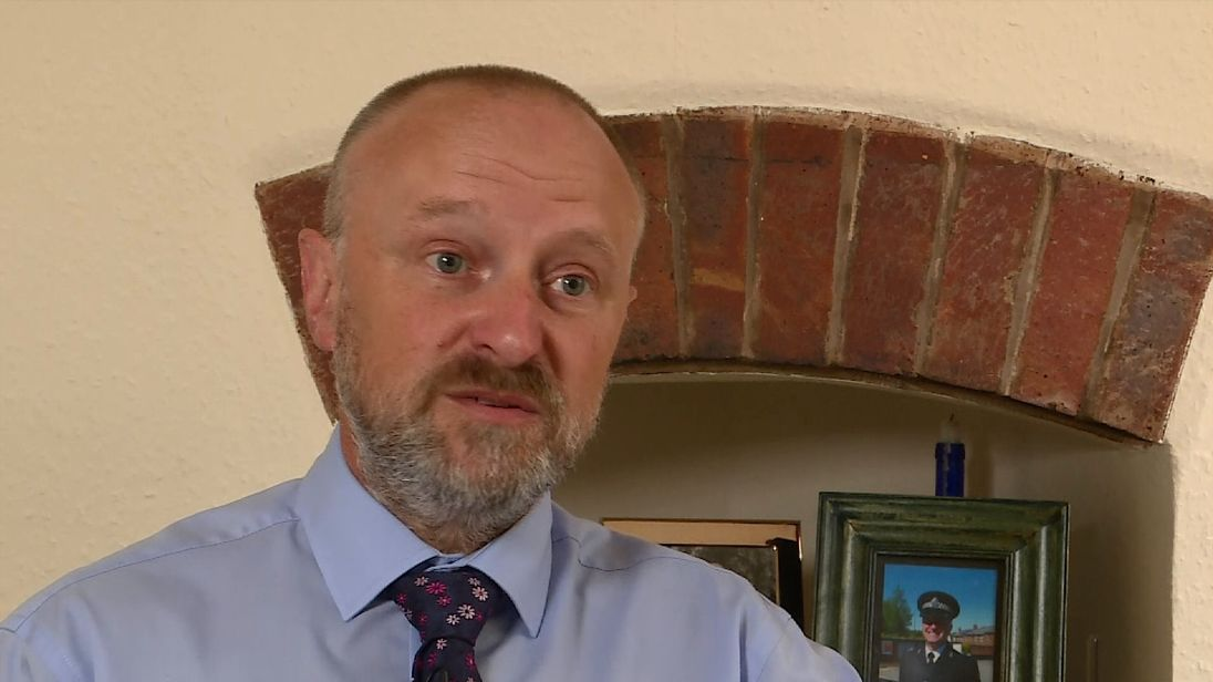 Detective Inspector Warren Hines says officers are contemplating suicide due to overwork