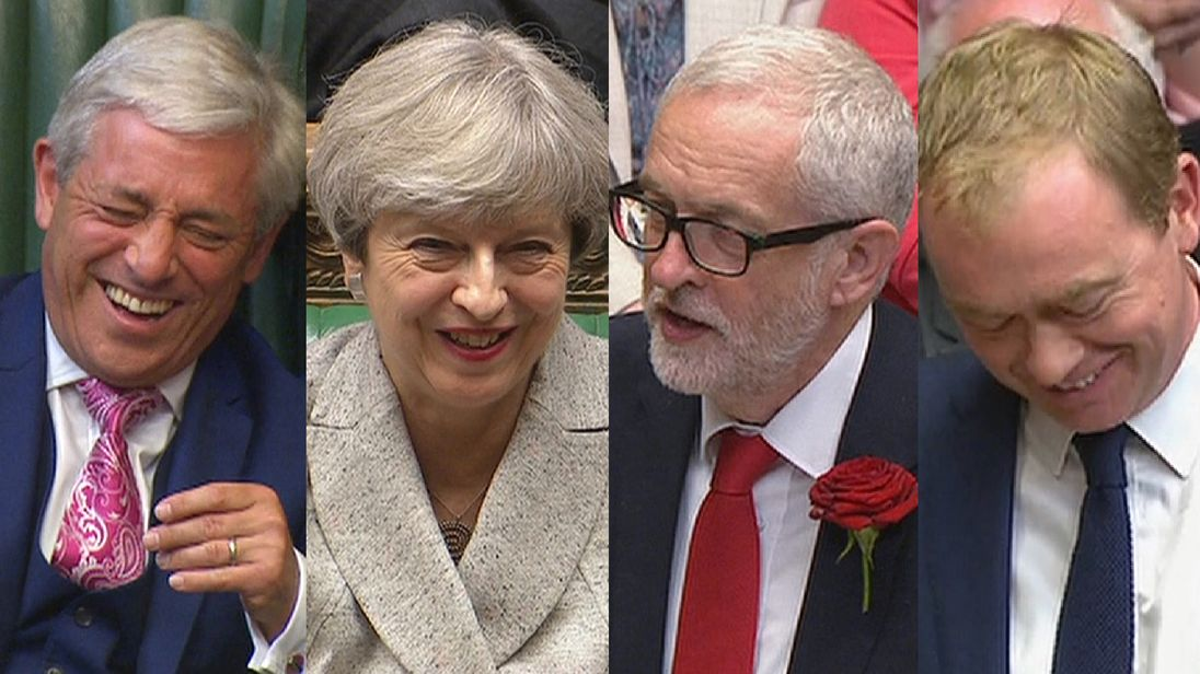 A laugh a minute in the House of Commons following a savage General Election