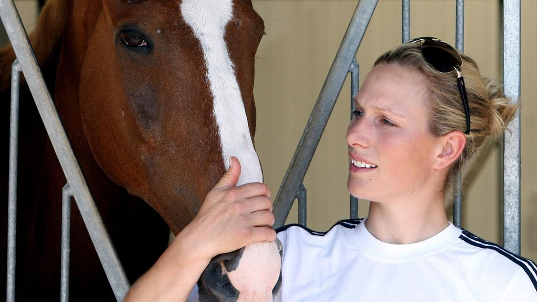 Zara Phillips with Toytown in 2008