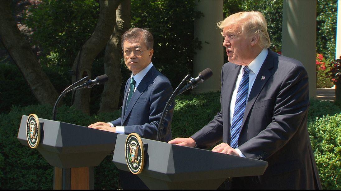 'Strategic patience' with North Korea has failed, say Donald Trump