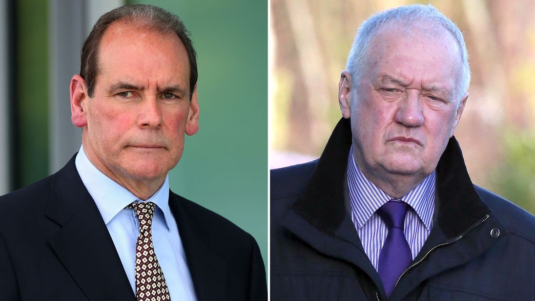 Former Chief Constable Norman Bettison and Former Chief Superintendent David Duckenfield