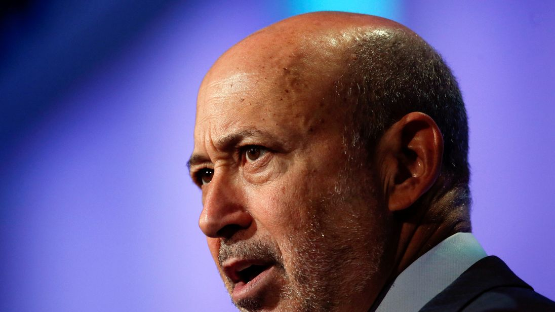 The boss of Goldman Sachs just called for a second Brexit referendum