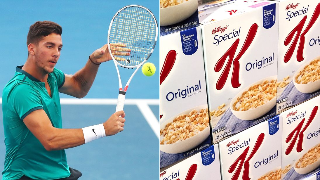 Thanasi Kokkinakis and Special K