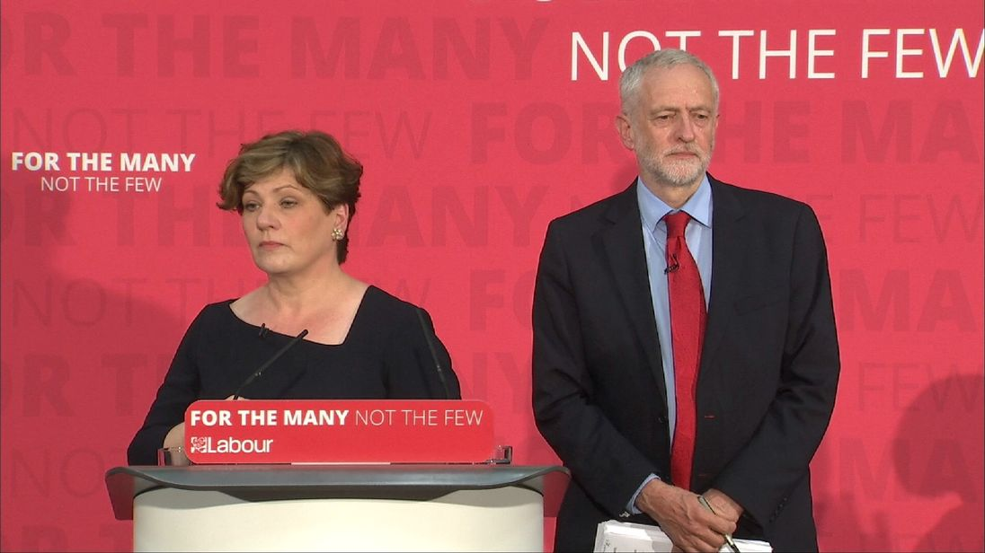 Emily Thornberry rules out any post election deals with other parties