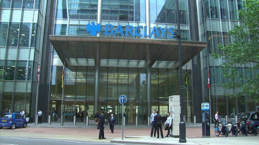 Barclays Q3 profits rise 32% as litigation costs fall