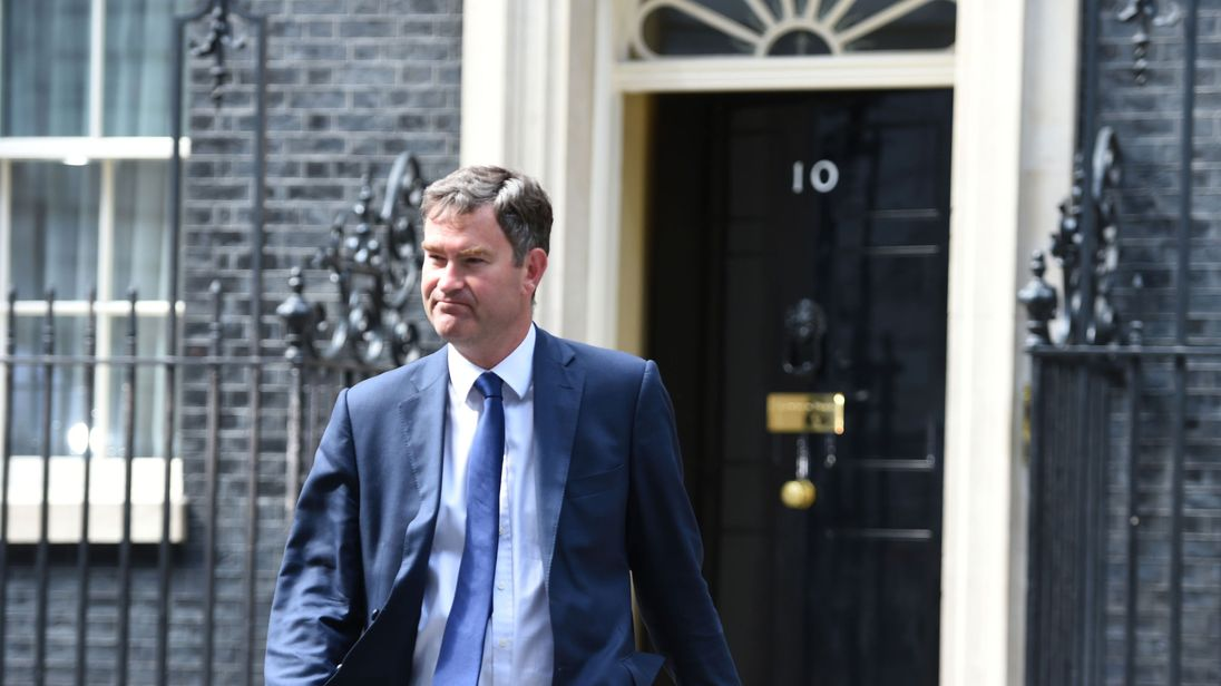 David Gauke is appointed Works and Pensions Secretary