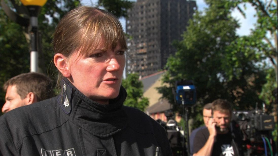 Commissioner Dany Cotton says the crews are heroes, but human too