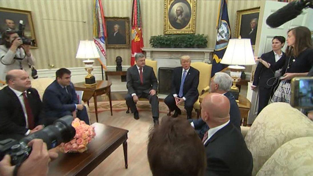 Donald Trump voices his concern over the Otto Warmbier case and North Korea