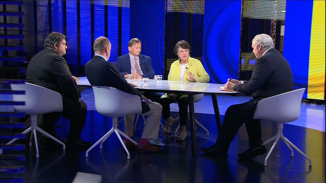 Our guests join Adam Boulton to discuss the Brexit negotiations so far.
