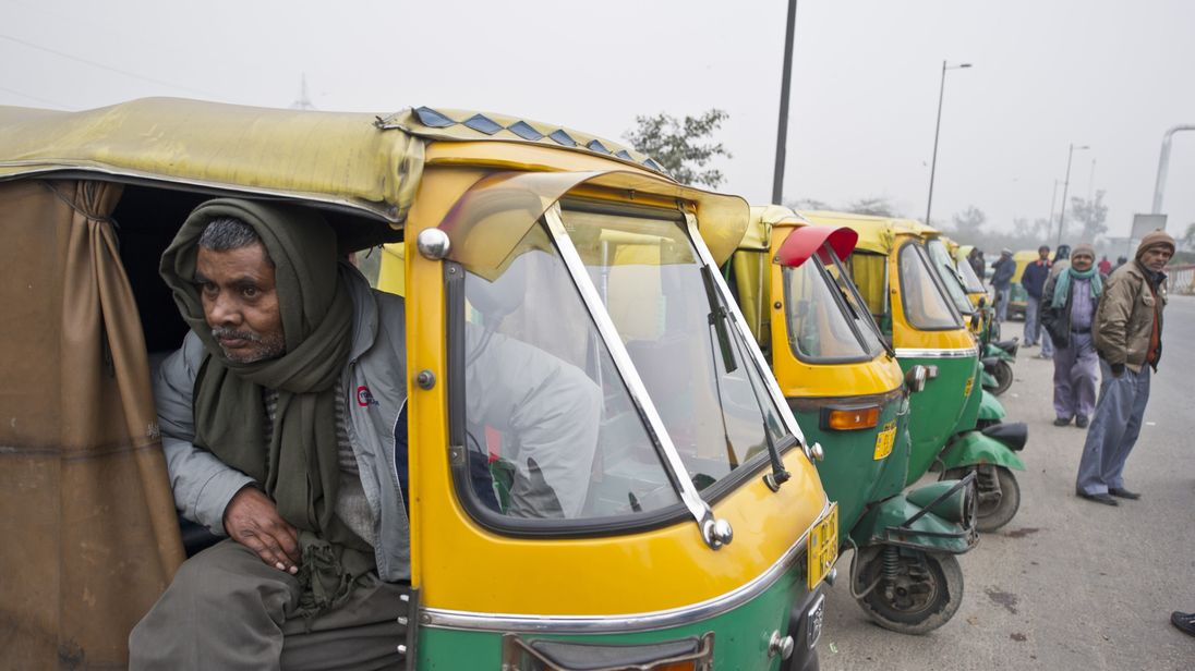 Indian autorickshaws