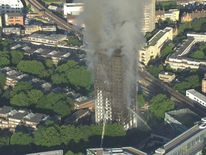 The blaze has destroyed Grenfell Tower