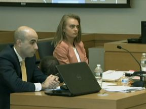 Michelle Carter in court Pic: WFXT