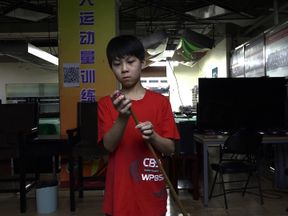 Ma Hailong is taking six months off school to see if he has what it takes