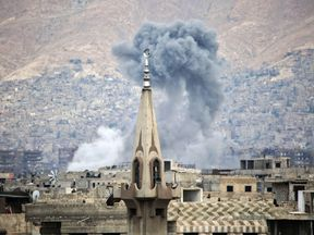 Rival factions are in a dash to seize land in Syria as the net closes in on Islamic State